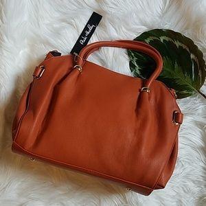 Pink Haley Clay Orange Shoulder or Handbag
